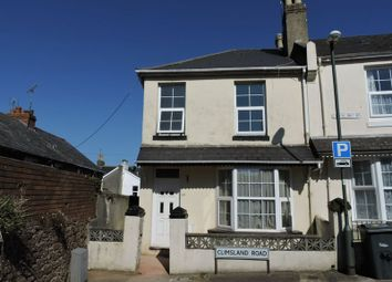 Thumbnail 4 bed terraced house to rent in Climsland Road, Paignton