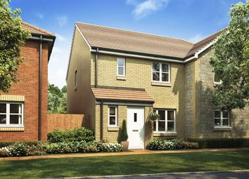 """Thumbnail 3 bed semi-detached house for sale in """"The Hanbury"""" at Heath Road, Coxheath, Maidstone"""