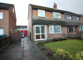 Thumbnail 3 bed semi-detached house for sale in Woodhouse Road, Urmston, Manchester