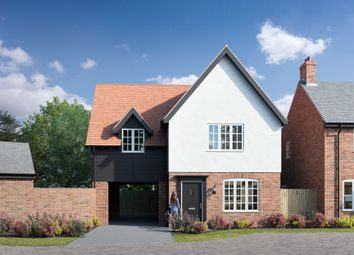 Thumbnail 3 bed detached house for sale in Sharpe Close, Carlton, Bedfordshire
