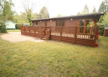 Thumbnail 3 bed mobile/park home for sale in Organford Road, Holton Heath, Poole