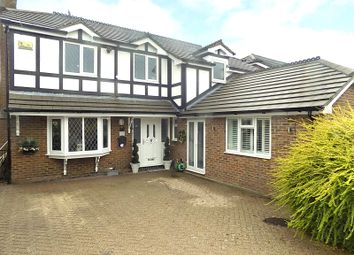 Thumbnail 4 bed detached house for sale in Warrington Road, Culcheth, Warrington