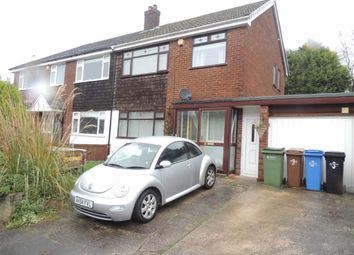 Thumbnail 3 bed semi-detached house for sale in Scafell Close, High Lane, Stockport