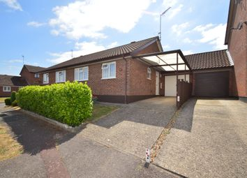 Thumbnail 2 bed semi-detached bungalow for sale in Chequers Rise, Great Blakenham, Ipswich