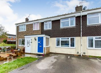 Thumbnail 3 bed terraced house for sale in Hoveton Place, Raf Coltishall, Norwich