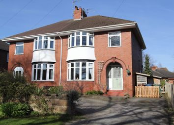 Thumbnail 3 bed semi-detached house for sale in Oulton, Stone, Staffordshire