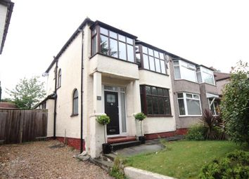 Thumbnail 3 bed semi-detached house to rent in Cooper Avenue North, Mossley Hill, Liverpool