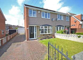 Thumbnail 3 bedroom semi-detached house for sale in Noon Close, Stanley, Wakefield