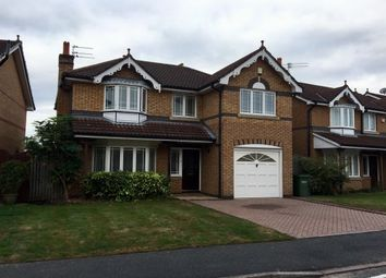 Thumbnail 4 bed property to rent in Sandhurst Drive, Wilmslow