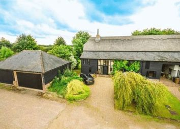 Thumbnail 4 bed barn conversion for sale in Old Hall Green, Nr. Ware, Hertfordshire