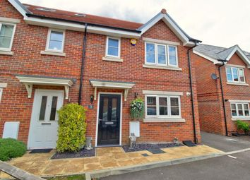 Thumbnail 3 bed semi-detached house for sale in Hodgson Way, Gilston, Harlow