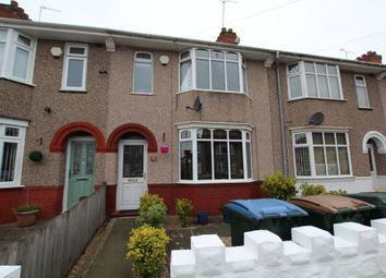 Thumbnail 3 bedroom terraced house for sale in Wycliffe Road West, Coventry