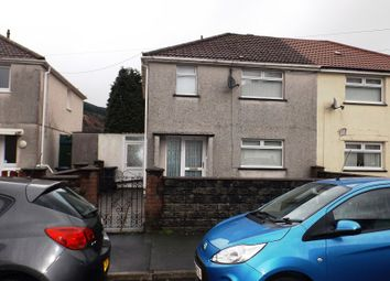 Thumbnail 3 bed semi-detached house for sale in Waun Avenue, Glyncorrwg, Port Talbot, Neath Port Talbot.