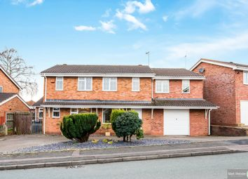 Thumbnail 5 bed detached house for sale in Loughshaw, Wilnecote, Tamworth