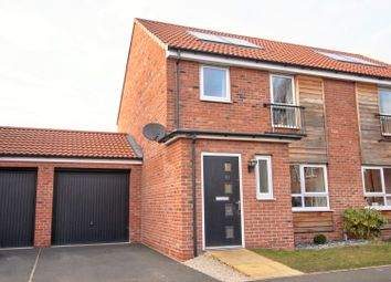 Thumbnail 3 bedroom semi-detached house for sale in Turner Close, York