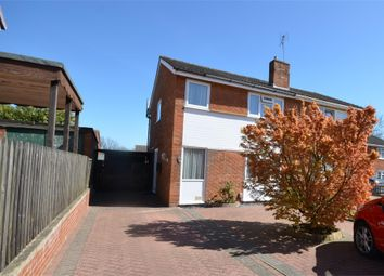 Thumbnail 3 bed semi-detached house for sale in Langham Road, Raunds, Wellingborough, Northamptonshire