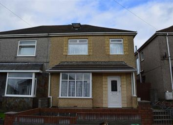 Thumbnail 3 bed semi-detached house for sale in St Elmo Avenue, Swansea