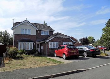 Thumbnail 4 bed detached house for sale in Eaton Close, Hatton, Derbyshire