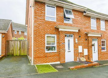 Thumbnail 2 bed semi-detached house for sale in Liebert Drive, Pendlebury, Swinton, Manchester