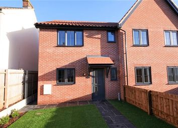 Thumbnail 3 bedroom semi-detached house for sale in Railway Mews, Cauldwell Hall Road, Ipswich