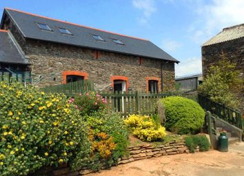 Thumbnail 2 bed barn conversion to rent in Traine Road, Wembury, Plymouth