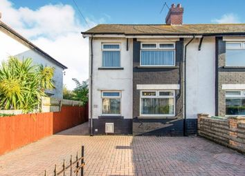 Thumbnail 3 bed semi-detached house for sale in Tweedsmuir Road, Cardiff, Caerdydd