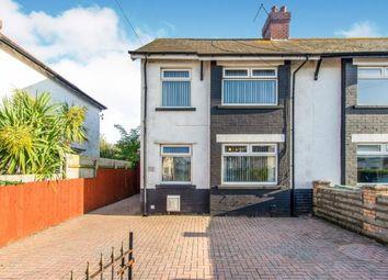 3 bed semi-detached house for sale in Tweedsmuir Road, Cardiff, Caerdydd CF24
