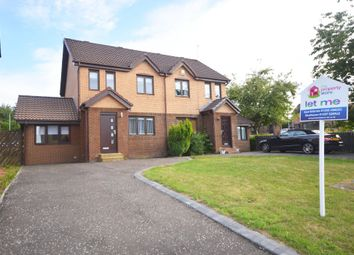 Thumbnail 4 bed semi-detached house to rent in Dunvegan Place, East Kilbride, South Lanarkshire
