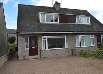 Thumbnail 3 bed semi-detached house to rent in Commercial Road, Ellon