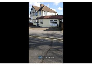 Thumbnail 1 bed flat to rent in Fairview Crescent, Rayners Lane