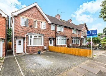 Thumbnail 3 bed terraced house for sale in Gracemere Crescent, Hall Green, Birmingham