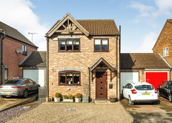 Radford Meadow, Castle Donington, Derby DE74. 3 bed detached house for sale