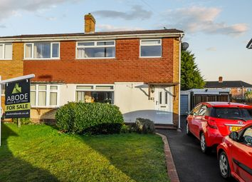 Thumbnail 3 bed semi-detached house for sale in Deepmore Close, Alrewas, Burton-On-Trent