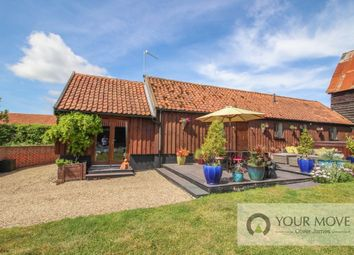 Thumbnail 2 bed bungalow for sale in Hulver Road, Mutford, Beccles