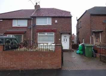 Thumbnail 2 bed semi-detached house for sale in Rothbury Gardens, Lobley Hill, Gateshead
