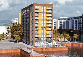 "Thumbnail 1 bed flat for sale in ""Azera A"" at Centenary Plaza, Southampton"