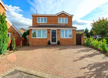 Thumbnail 4 bed detached house for sale in Collishaw Close, Hasland, Chesterfield, Derbyshire