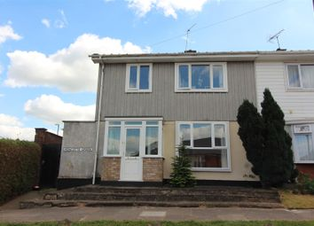 Thumbnail 3 bed semi-detached house for sale in Howcotte Green, Canley, Coventry