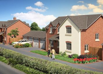 Thumbnail 4 bed detached house for sale in Belin Mount, Crew Green, Shrewsbury