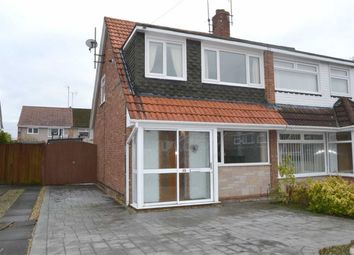 Thumbnail 3 bed semi-detached house for sale in Somerville Close, Bromborough, Wirral