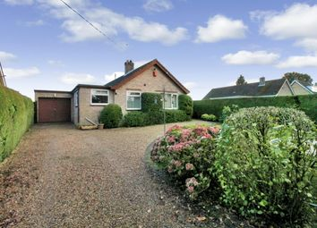 Thumbnail 4 bed bungalow for sale in Hall Road, Framingham Earl, Norwich