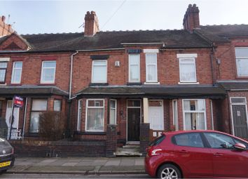 Thumbnail 3 bed town house for sale in Heron Street, Heron Cross, Stoke-On-Trent