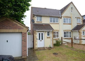 Thumbnail 3 bed semi-detached house to rent in Fontwell Close, Aldershot