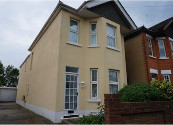 Thumbnail 3 bed detached house for sale in Strouden Road, Bournemouth