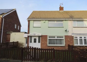 Thumbnail 3 bed semi-detached house for sale in Coach Road Estate, Usworth, Washington