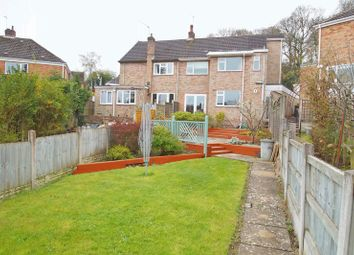 Thumbnail 4 bed semi-detached house for sale in Vicarage Crescent, Batchley, Redditch