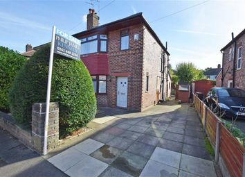 Thumbnail 3 bed semi-detached house for sale in Broughville Drive, Didsbury, Manchester
