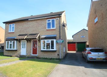 Thumbnail 2 bed semi-detached house for sale in Lambourne Avenue, Hawkslade, Aylesbury