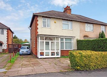 Thumbnail 3 bed semi-detached house for sale in Outwoods Drive, Loughborough