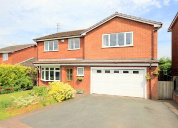 Thumbnail 5 bedroom detached house for sale in Kingfisher Crescent, Fulford, Stoke-On-Trent